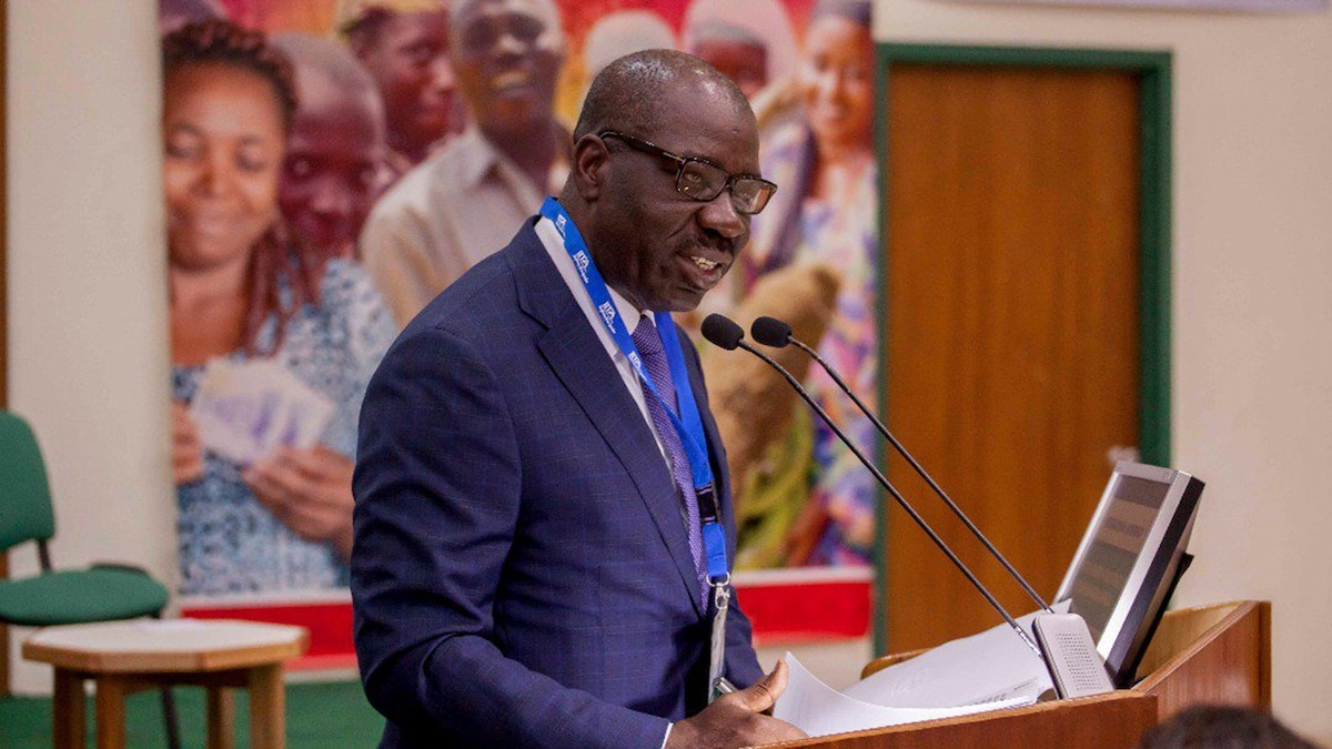 Godwin Obaseki, Edo's Governor, says he is determined to deal with people plotting to disrupt the state's September 19 election.