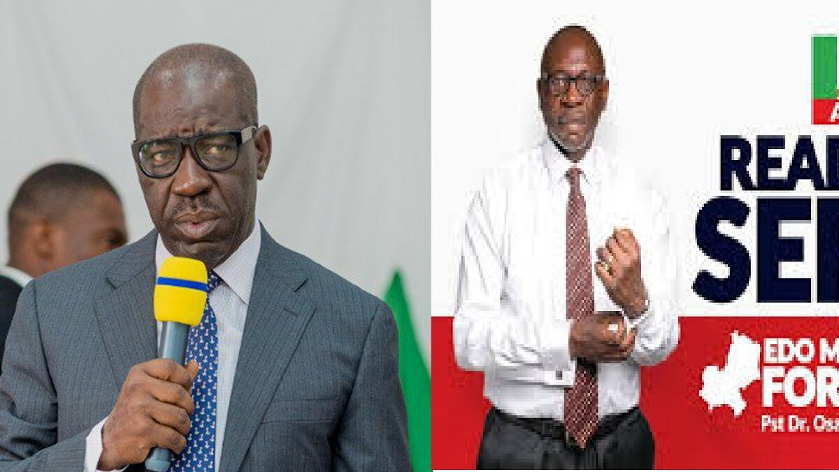 Edo Poll: Ize-Iyamu Is My Younger Brother, He Respects Me-Gov Obaseki