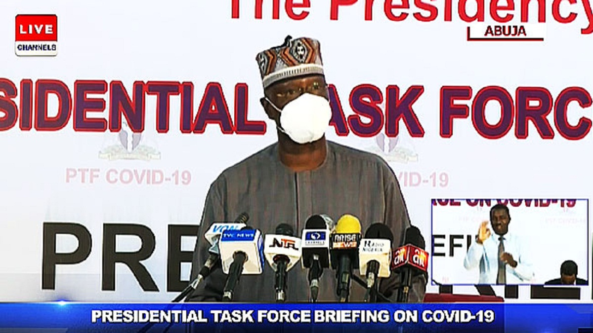 The Chairman of the Presidential Task Force(PTF) on COVID-19, Boss Mustapha, issued a warning in Abuja during the task force's daily briefing, adding that people in positions of authority should take security protocols more seriously