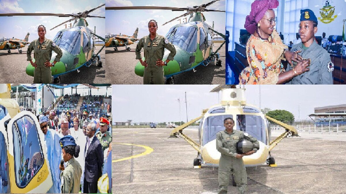 Shehu Sani mourns first female helicopter pilot at 23