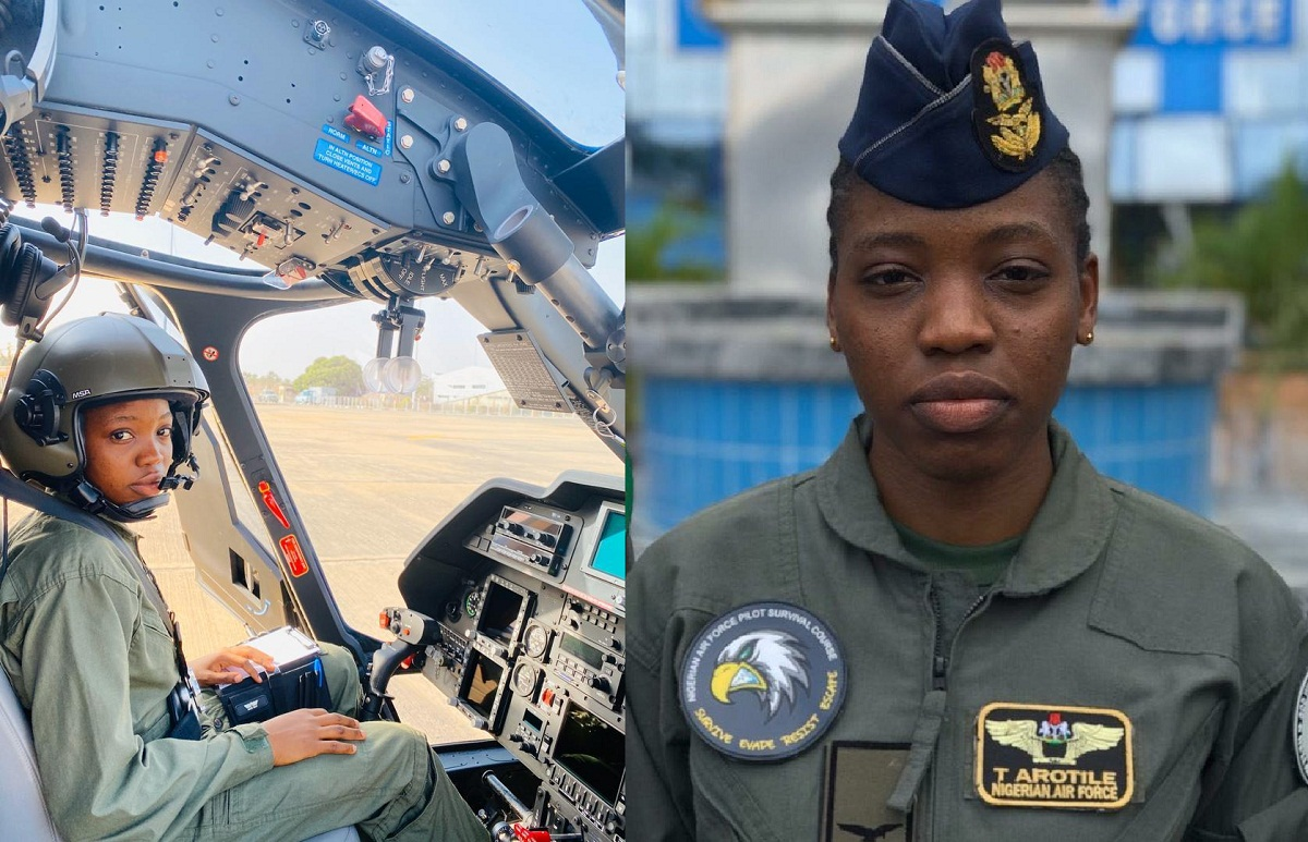 Flight officer Tolulope Artile, the first ever female combat helicopter pilot in Nigeria, is dead. She was barely 23 years old