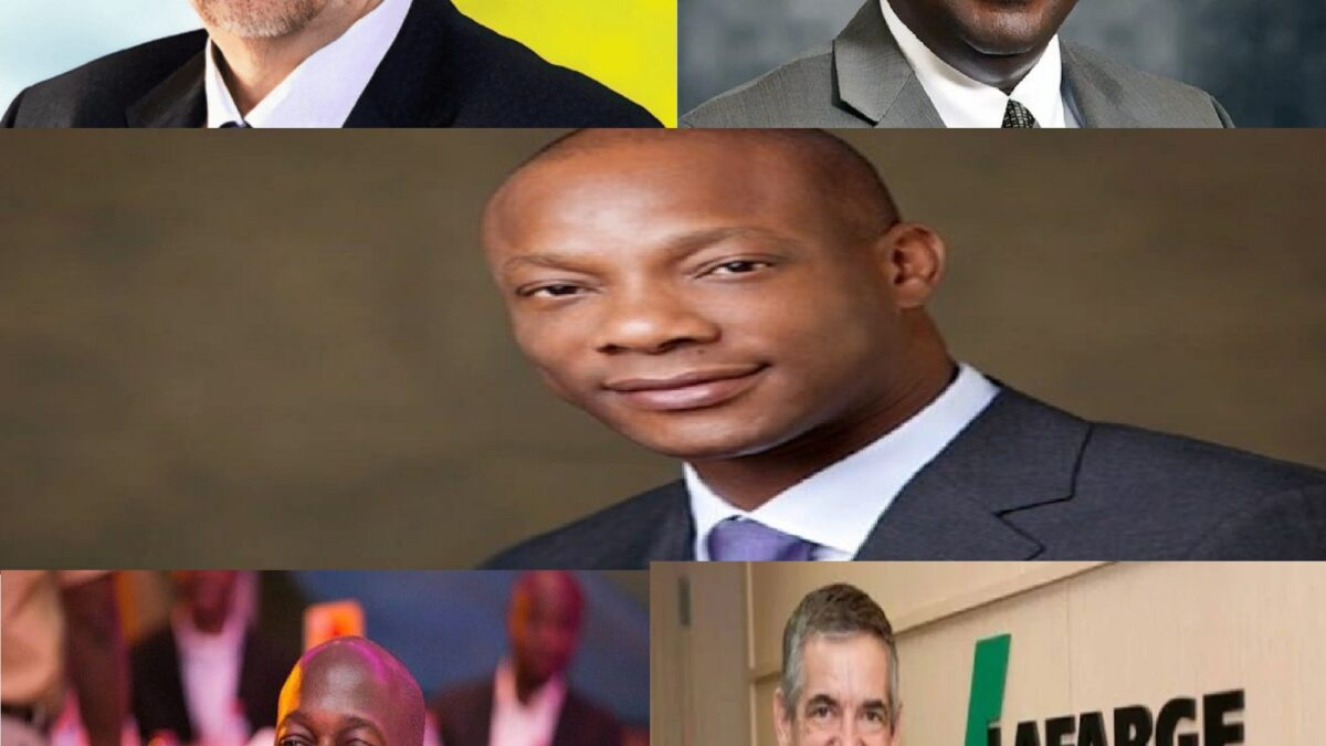 Photo of Top 5 Highest Earning CEOs In Nigeria