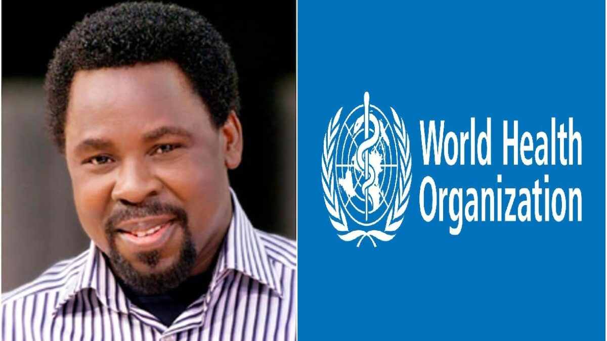 WHO is ready to cooperate with T. B. Joshua in the fight against COVID-19