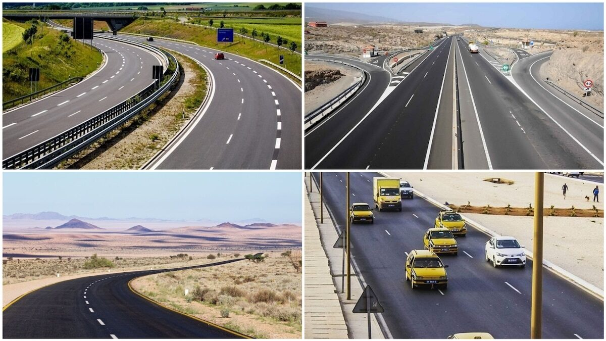 These are the top African countries with the best roads (see countries in the list)