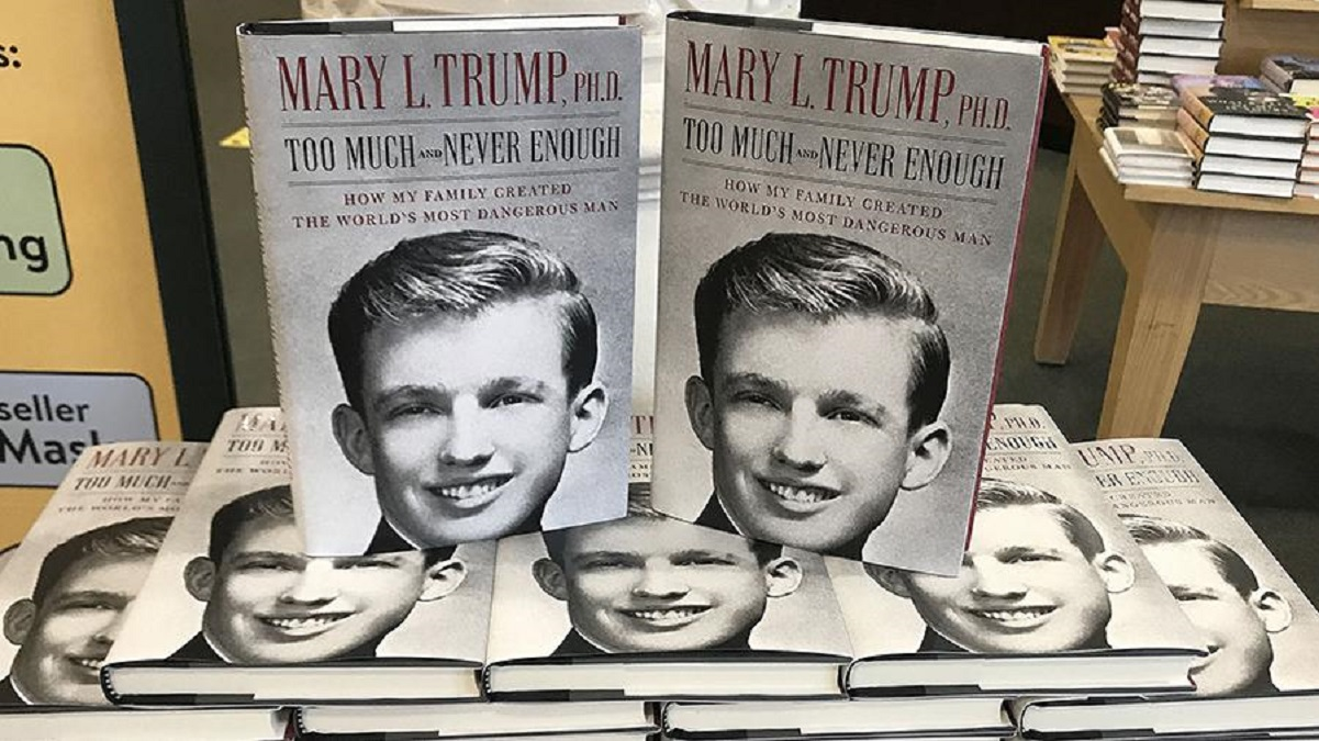 Photo of Trump was upset by recently published books about him