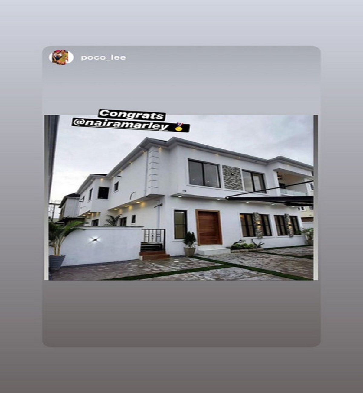 Nigerian rapper Azeez Fashola, also known as Naira Marley, has purchased a luxury property in Lagos for himself.
