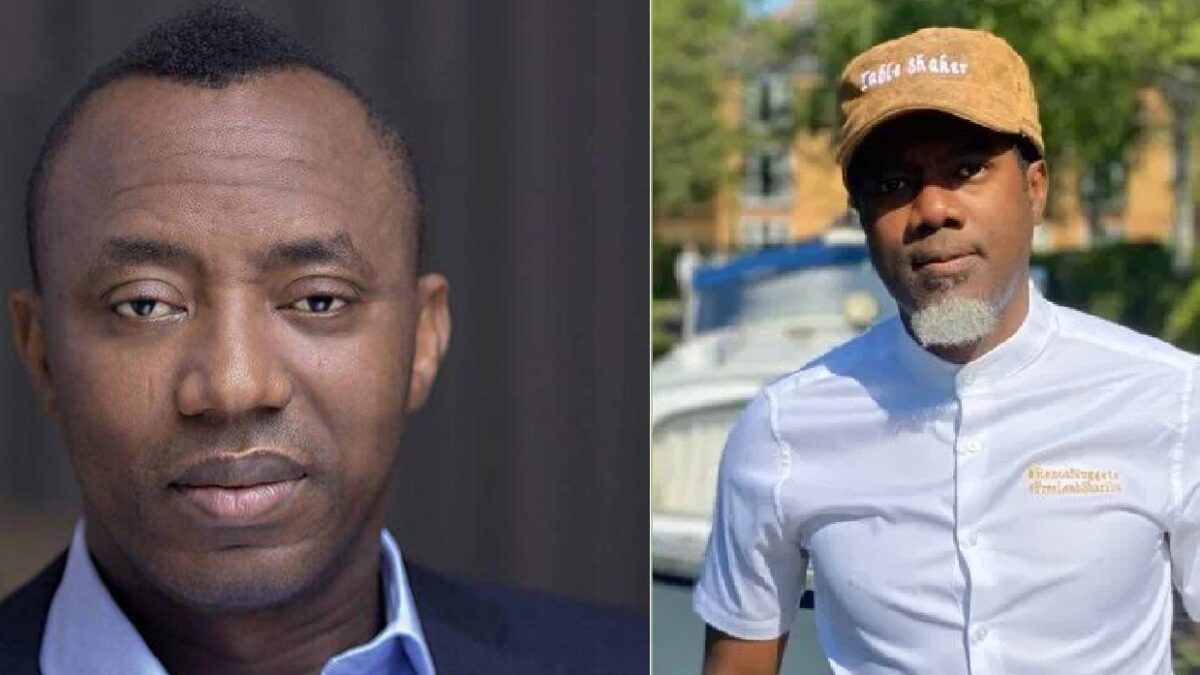 Reno Omokri: How Sowore Blackmailed Me And Nearly Destroyed My Family's Life