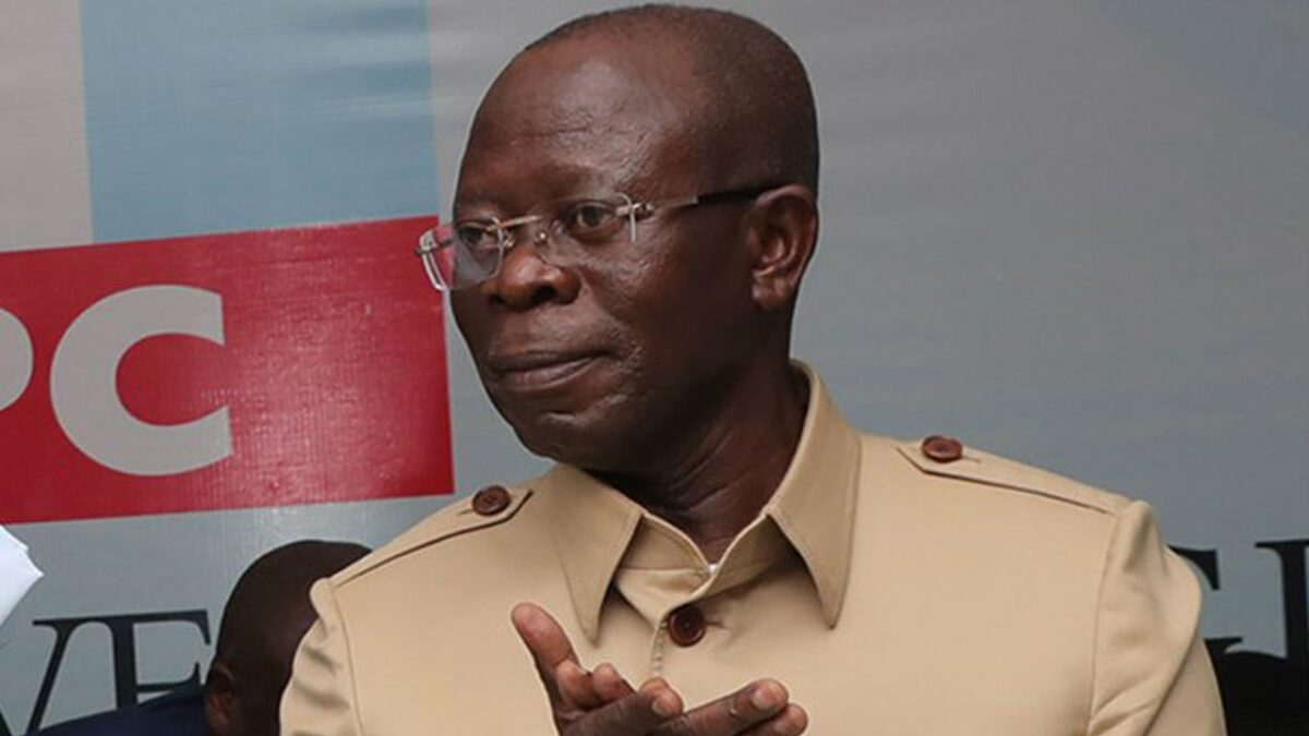 Photo of Obaseki's aide: Oshiomole desperately tries to revive his sinking career