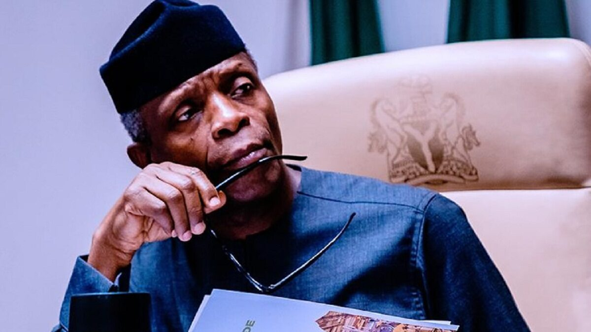 Photo of Osinbajo: Soon, many people will be discouraged to resist Corruption