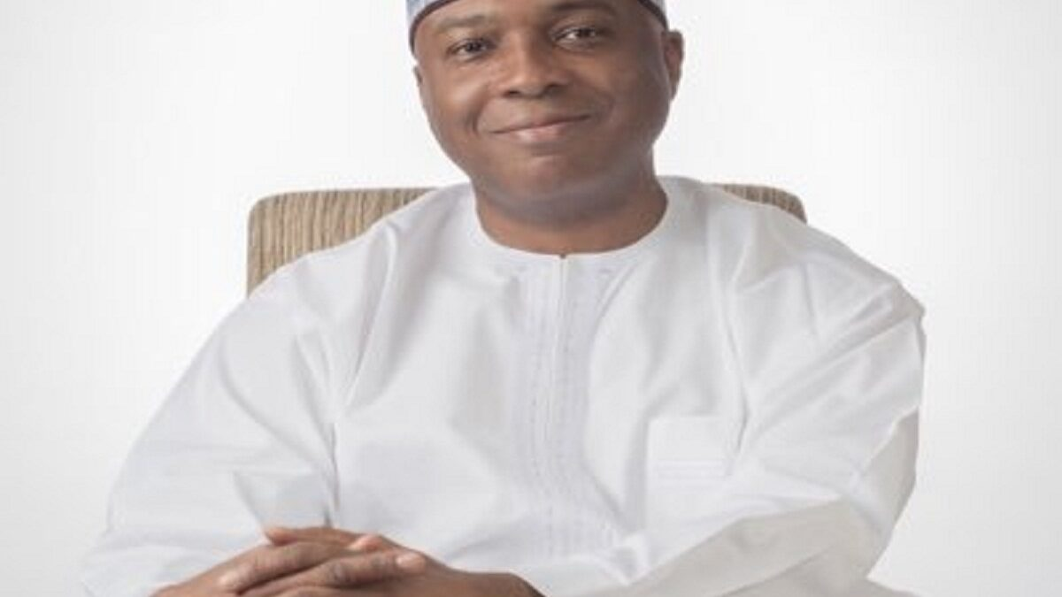 Saraki Rocks Wizkid's 'Made In Lagos' Album (Photo)