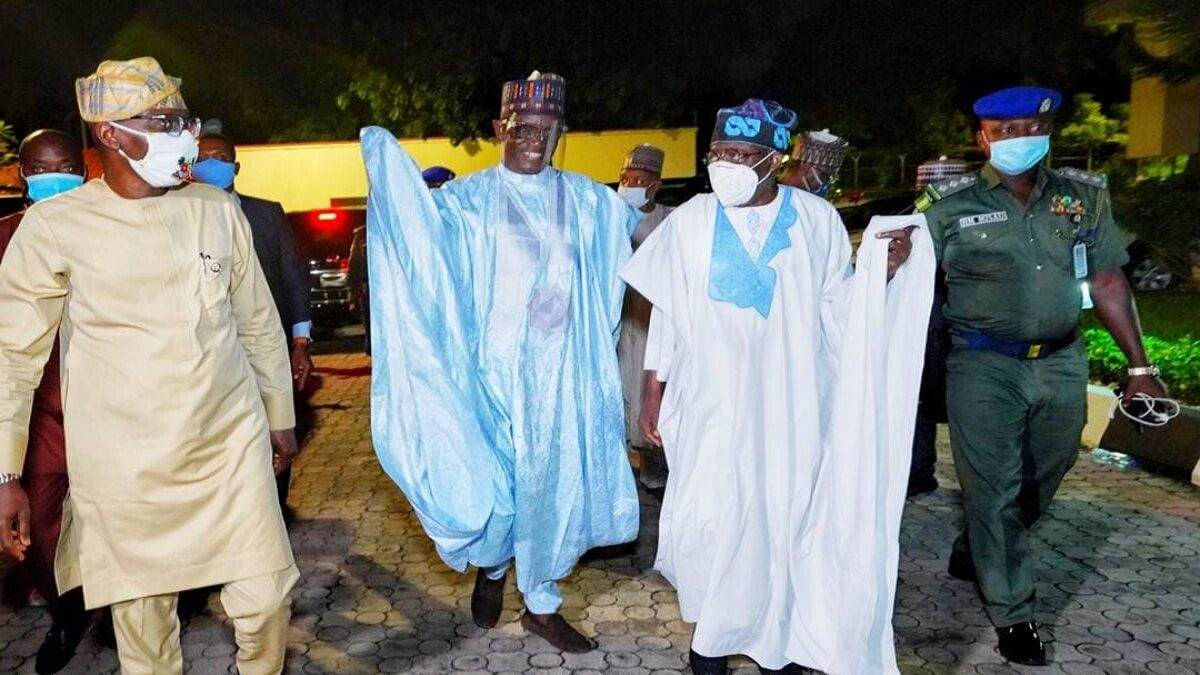 "Photo of Tinubu is one of our leaders, "" the APC Caretaker Committee says after meeting with party leader"
