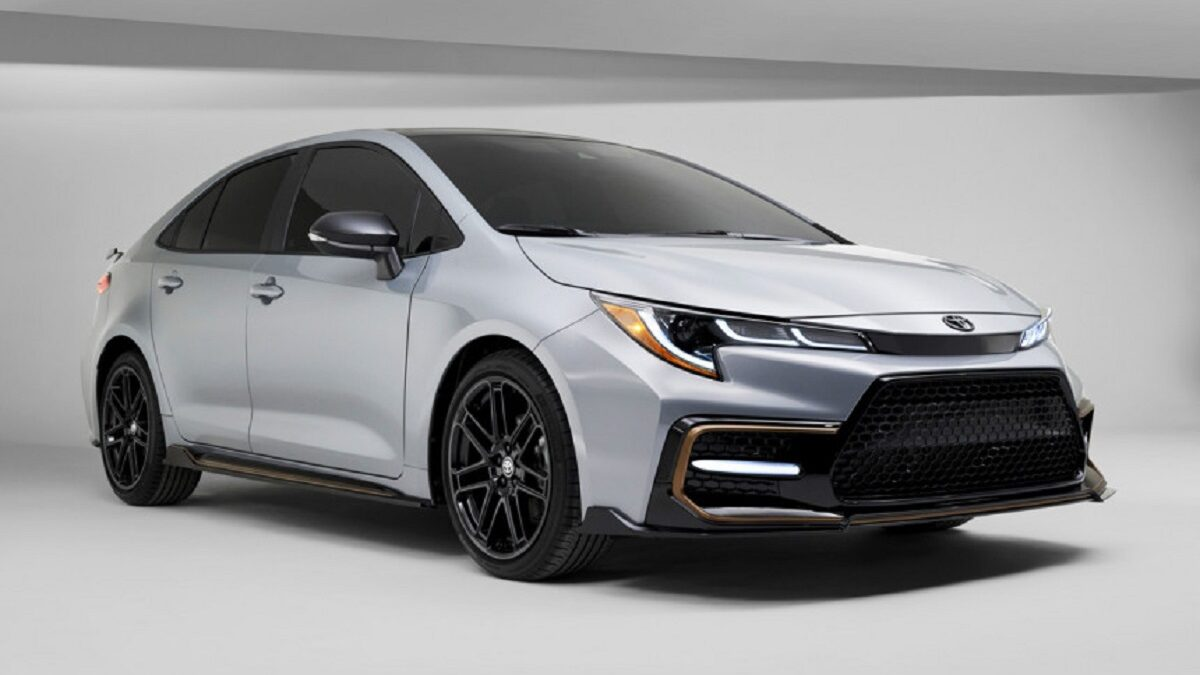 Photo of Toyota Corolla Apex Edition with combat chassis launched