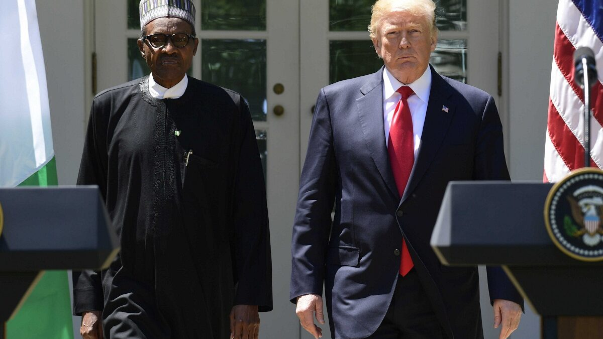 Photo of Buhari reveals powerful revelation on what he told Trump when he accused him of killing Nigerian Christians