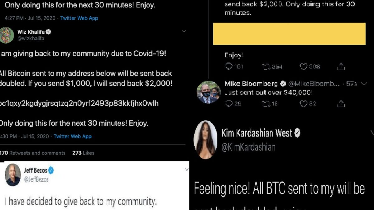 Photo of High Profile Twitter Accounts Hacked By Bitcoin Scammers