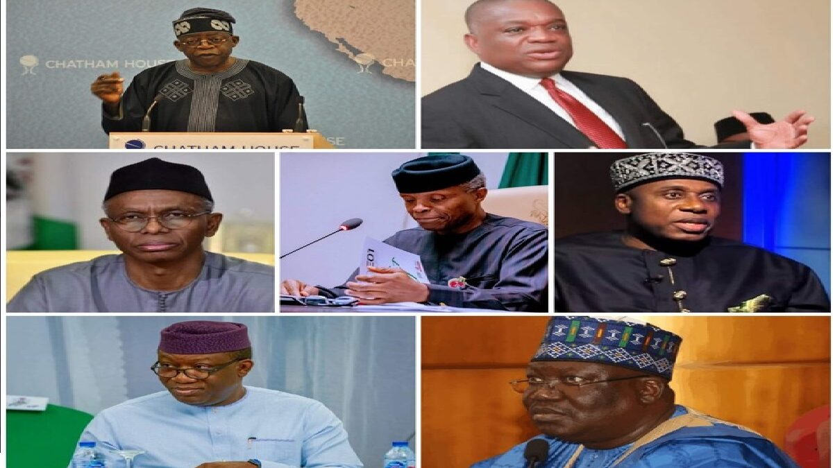 2023 Election: Top 7 Candidates That Could Be APC Presidential Flag Bearer