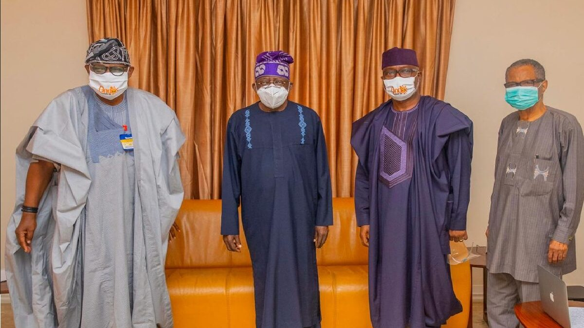 Photo of Ondo Poll: Akeredolu, Lucky Aiyedatiwa Visits Tinubu, Sanwo-Olu In Lagos(Photo)