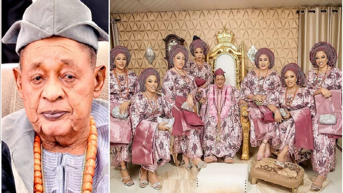 Alaafin of Oyo tells how he married his young wives, says he never proposed to them