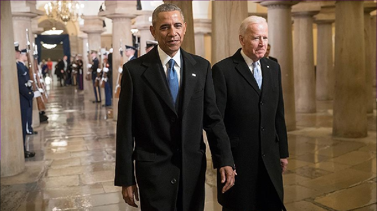 Biden sees Obama as an example for Americans, unlike Trump