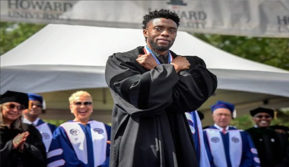 Boseman gives 'Wakanda Forever' salute at Howard graduation (Washington Post)