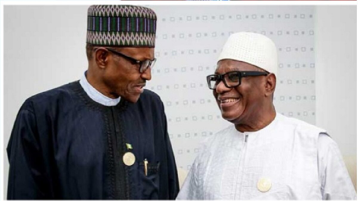 President Buhari Calls For The Immediate Release Of Malian President Keita(Video)