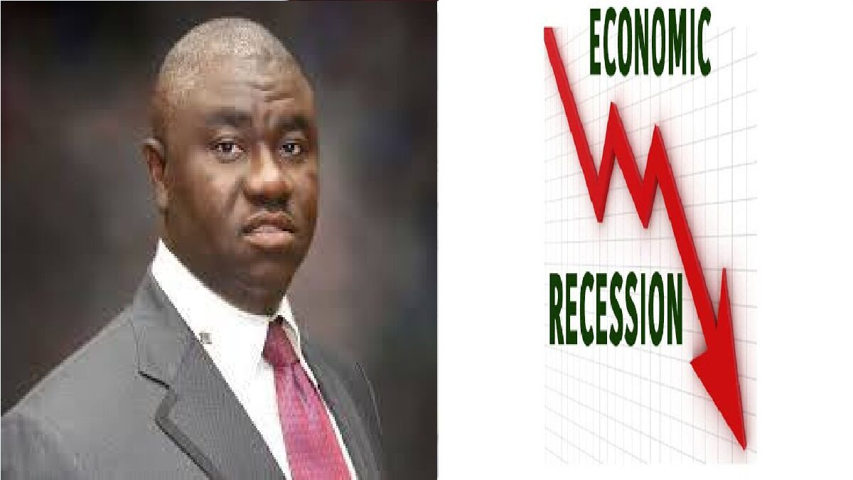 We Are Approaching The Second Recession In The Last Four Years - Minister Of State For Budget