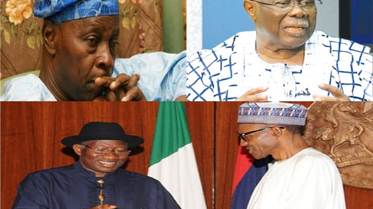 Insecurity: Olu Falae, Bode George ask PMB to implement National CONFAB reports 2014