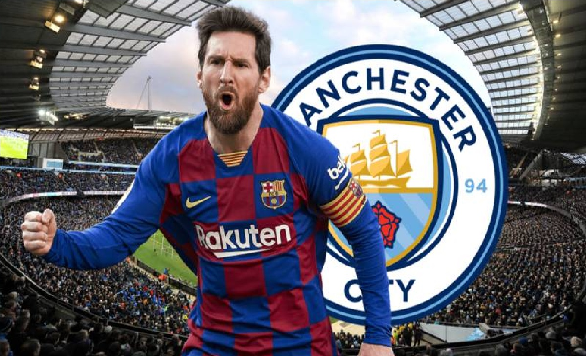 Manchester City offered € 100 million and three players for Messi