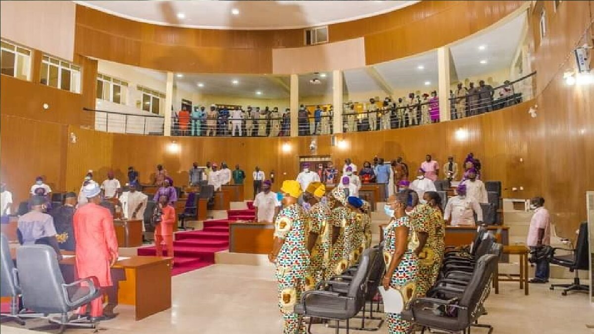 Photo of Video: Ekiti House of Assembly Holds Special Plenary for Late Bamidele Olumilua