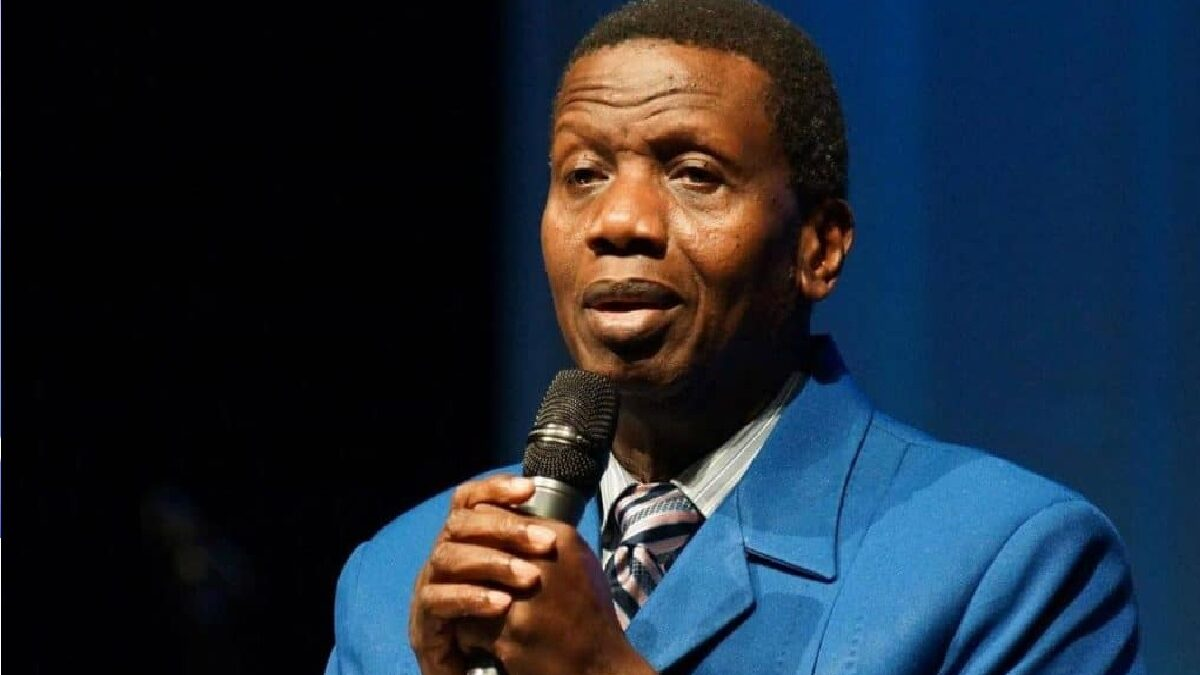Terrorism will be forgotten in Nigeria- Adeboye