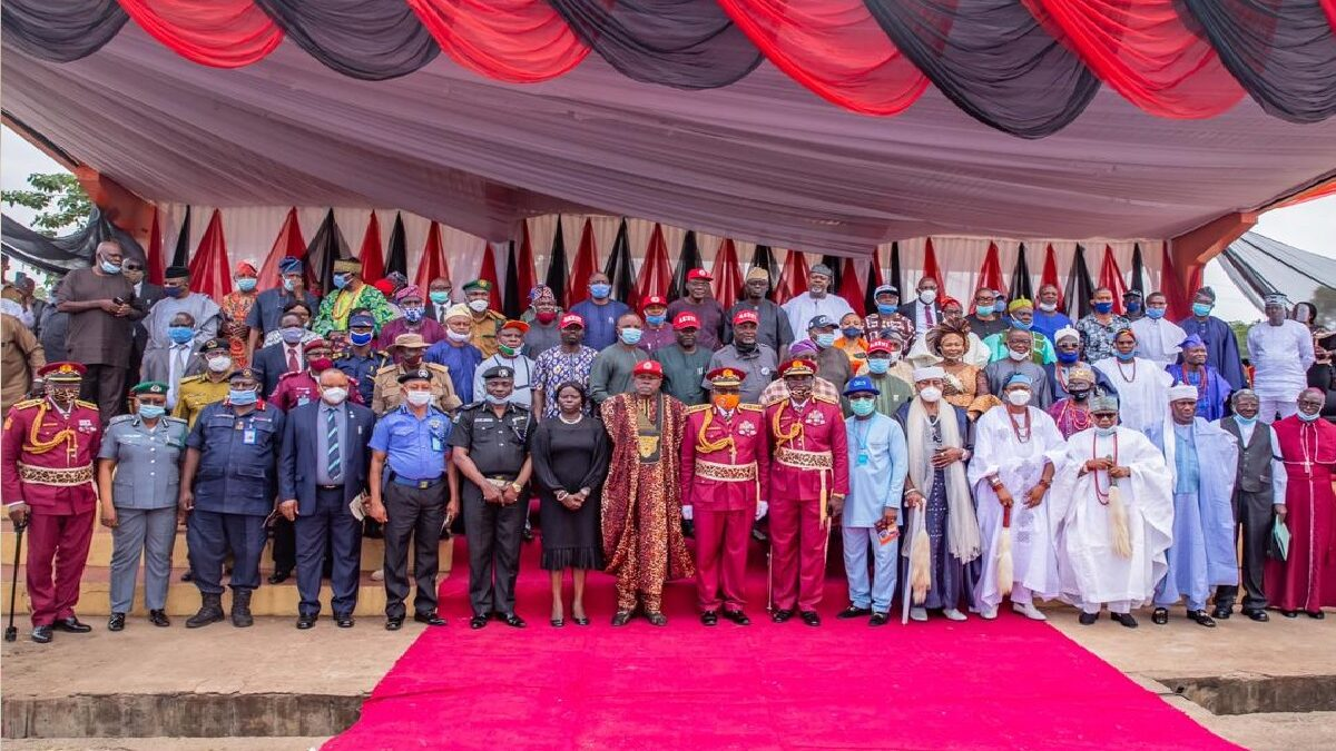 Photo of Governor Rotimi Akeredolu inaugurates operation Amotekun in Ondo State(Photos)