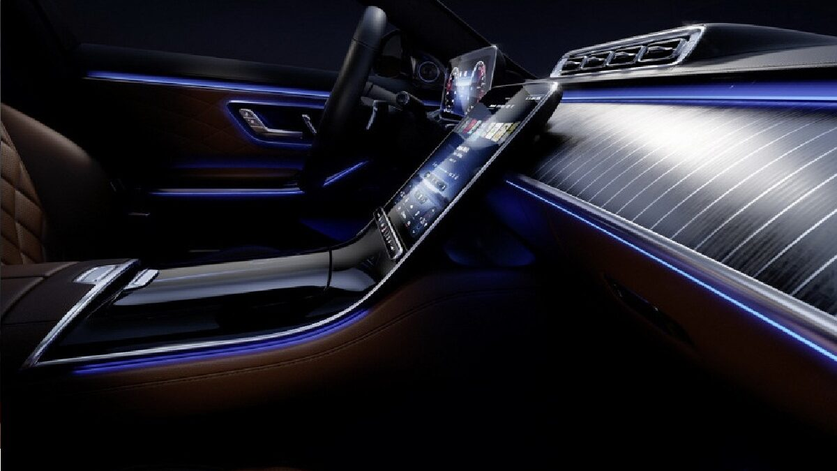 Photo of The new Mercedes S-class is intrigued by the interior design