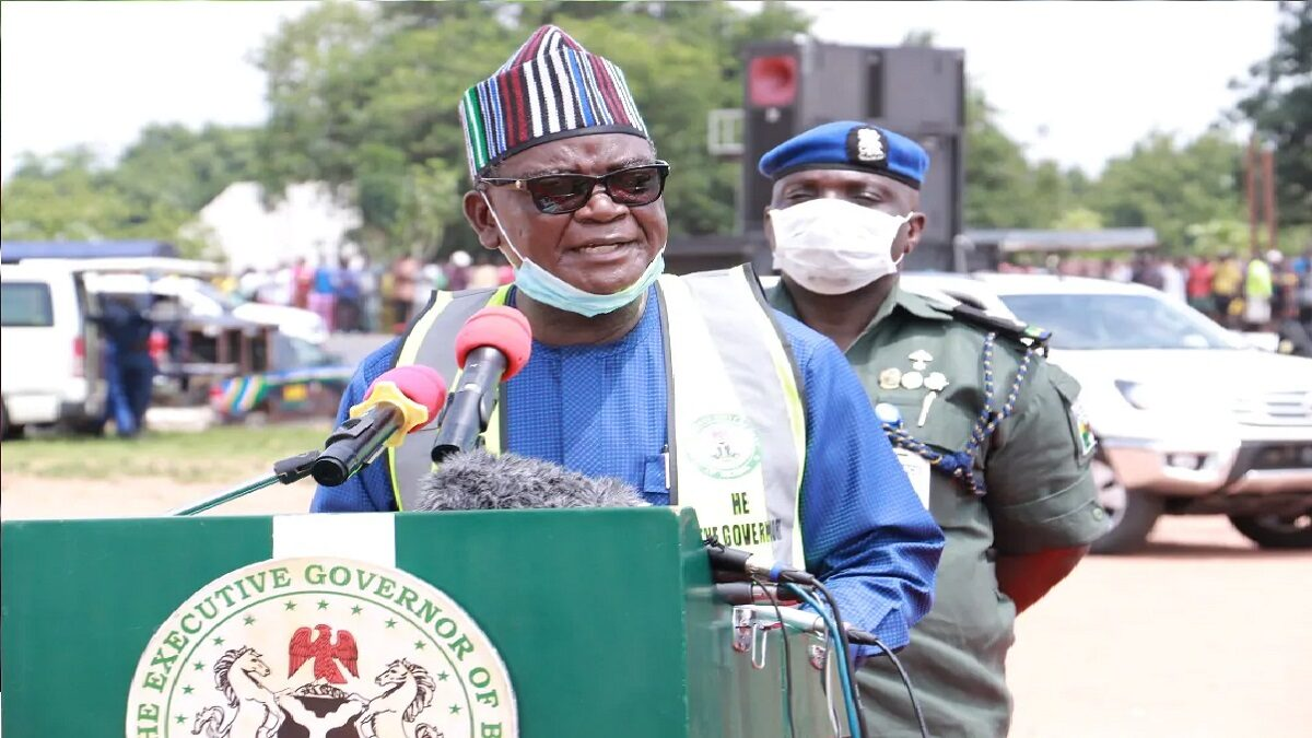 Ortom to FG: listen to Nigerians about restructuring, we are not in military era
