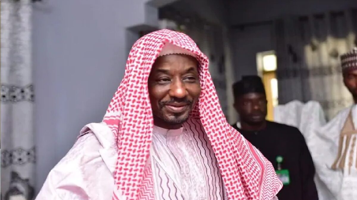 This is where I'm relocating to - Sanusi opens up