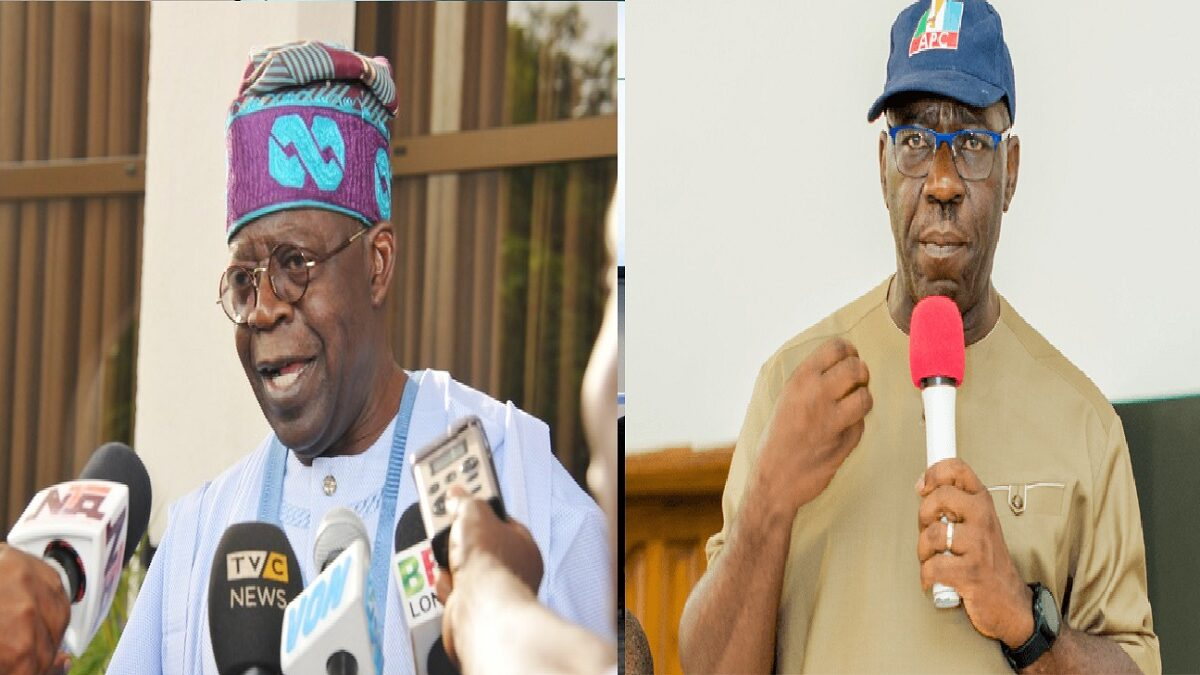 Edo Assembly Crisis: Tinubu Says Obaseki Committed Impeachable Offenses