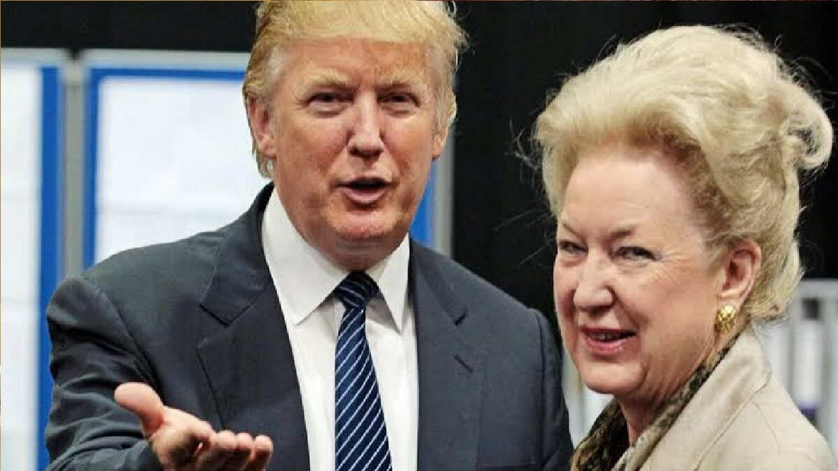 Photo of Trump's sister called him cruel and unprincipled