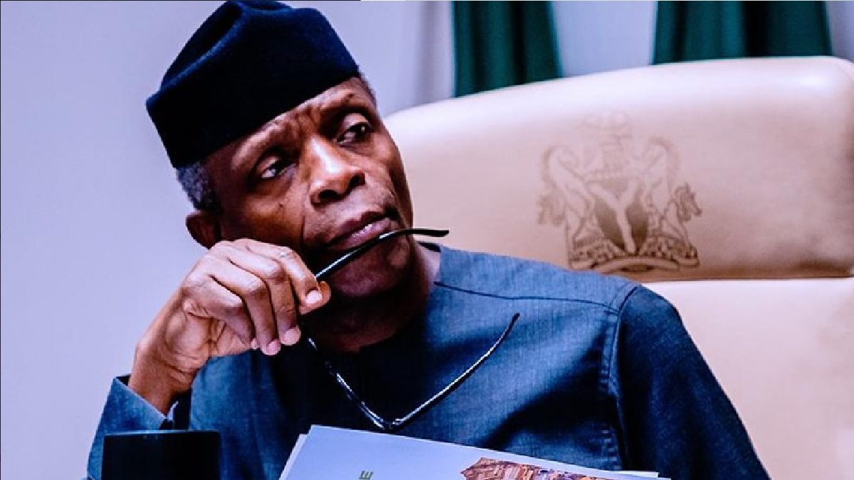 Nigeria at 60: we have a crack that could break us - Osinbajo makes power revelations
