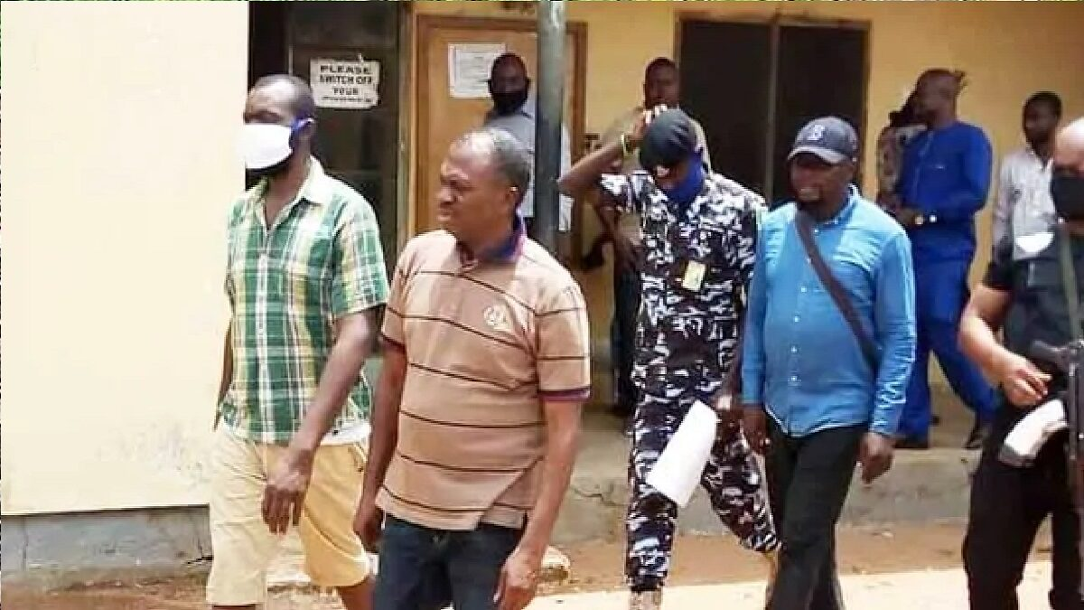 A Nigerian court has sent lawmakers to jail on charges of kidnapping (Photo)