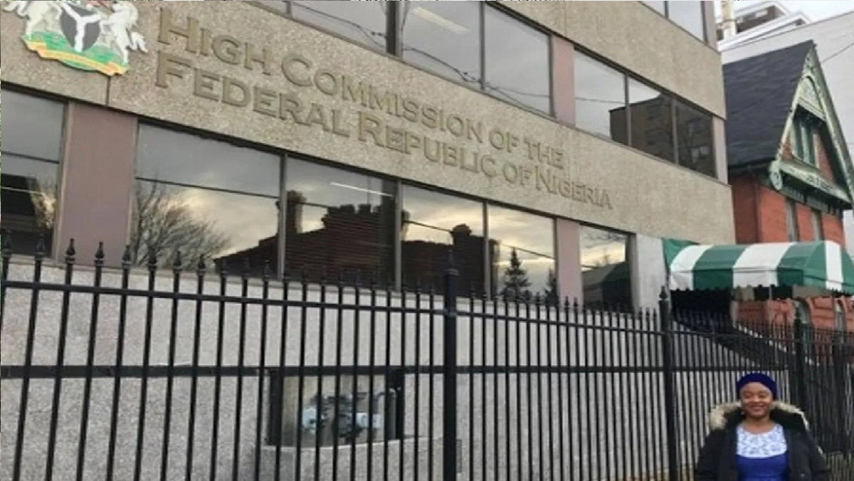 Nigerian Embassy in Canada was closed after the 'attack' on employees