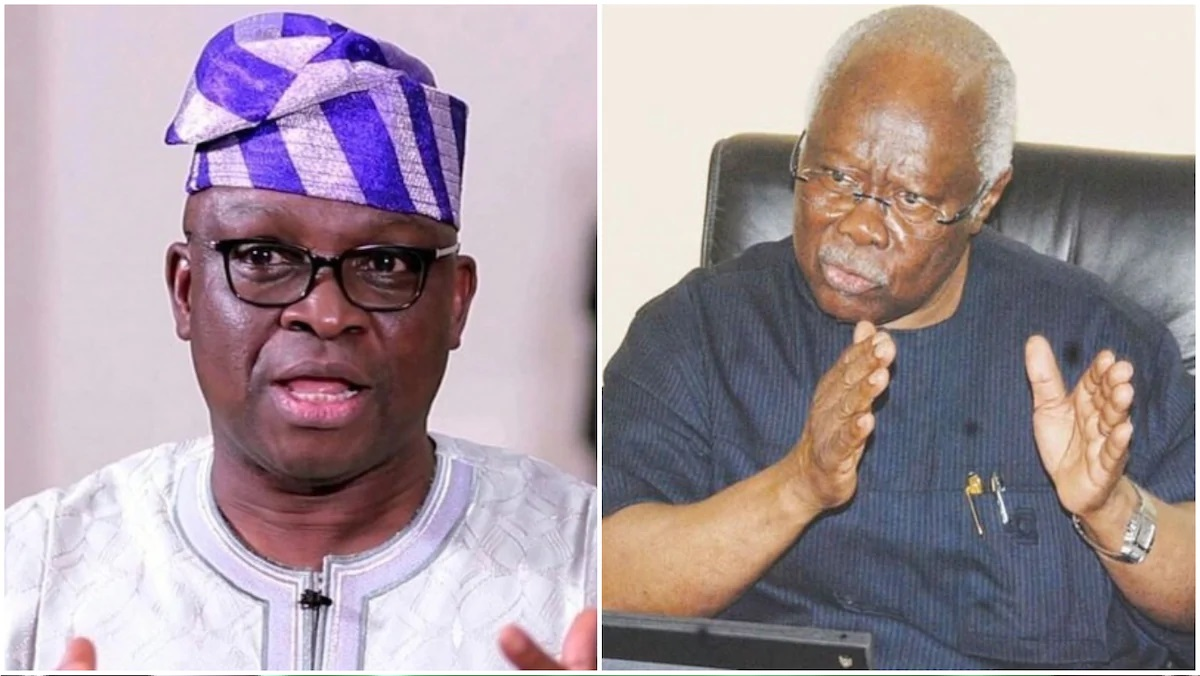 Fayose predicts winner of Edo gubernatorial election, attacks Bode George