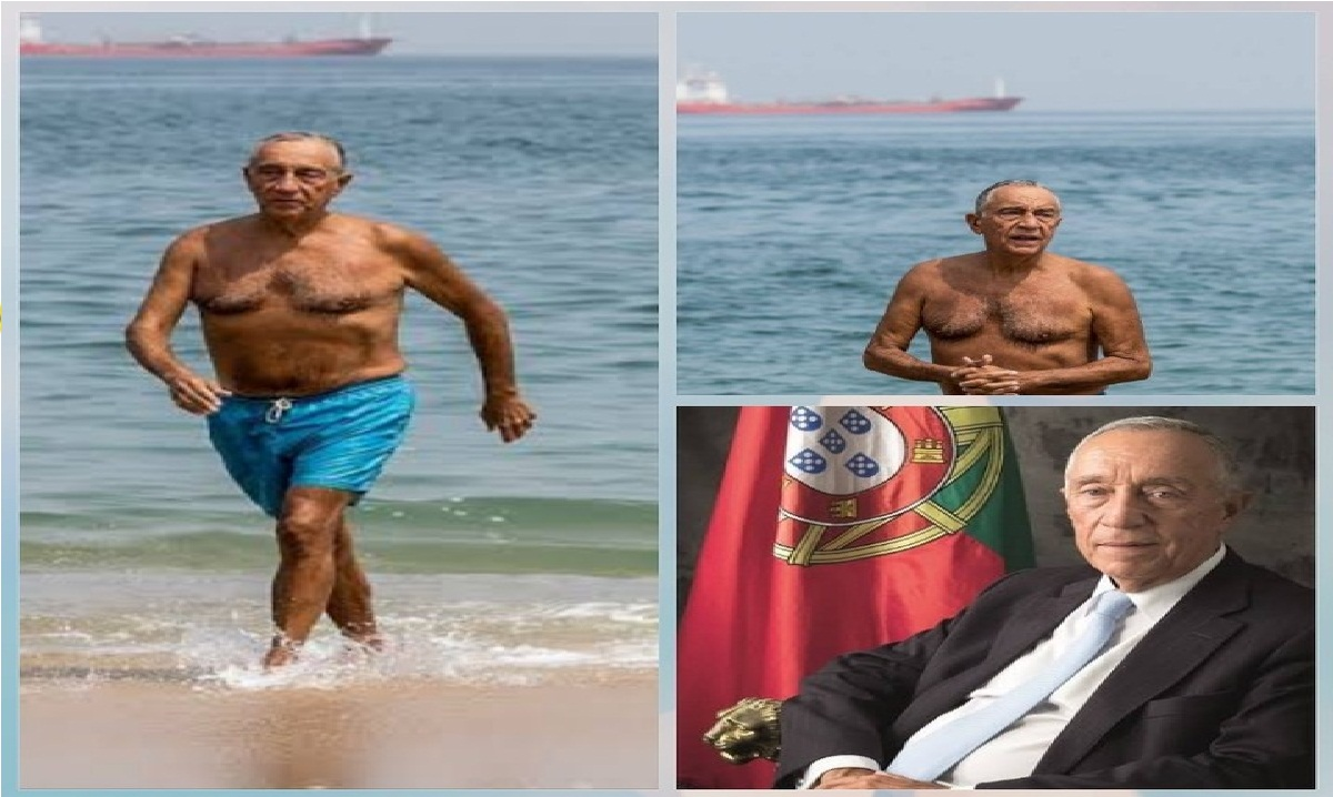 71-Year-Old President Swims, Helps Rescue 2 Women From Drowning At Sea(Video)
