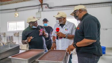 Photo of Akeredolu Commissions Best Chocolate Factory In Idanre (Photos)