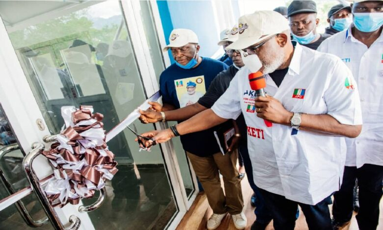 I want Ondo to pay salaries without relying on federal allocation- Rotimi Akeredolu