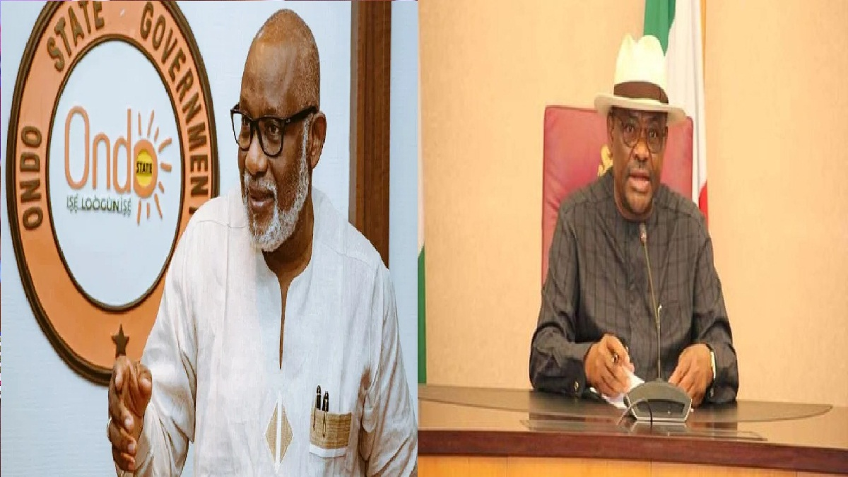 We don't allow godfathers in Ondo, we only have one Godfather, and that's God — Akeredolu tackles Wike