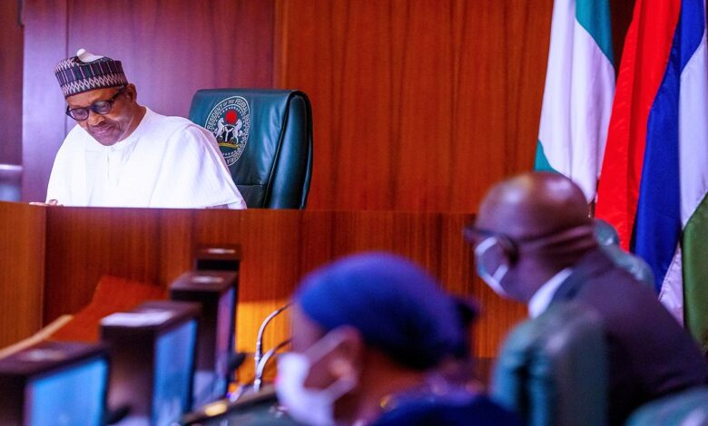 Obaseki, Shuaibu And Their Wives Visit Buhari, Says It Will Be Immoral To Return To APC(Photos)