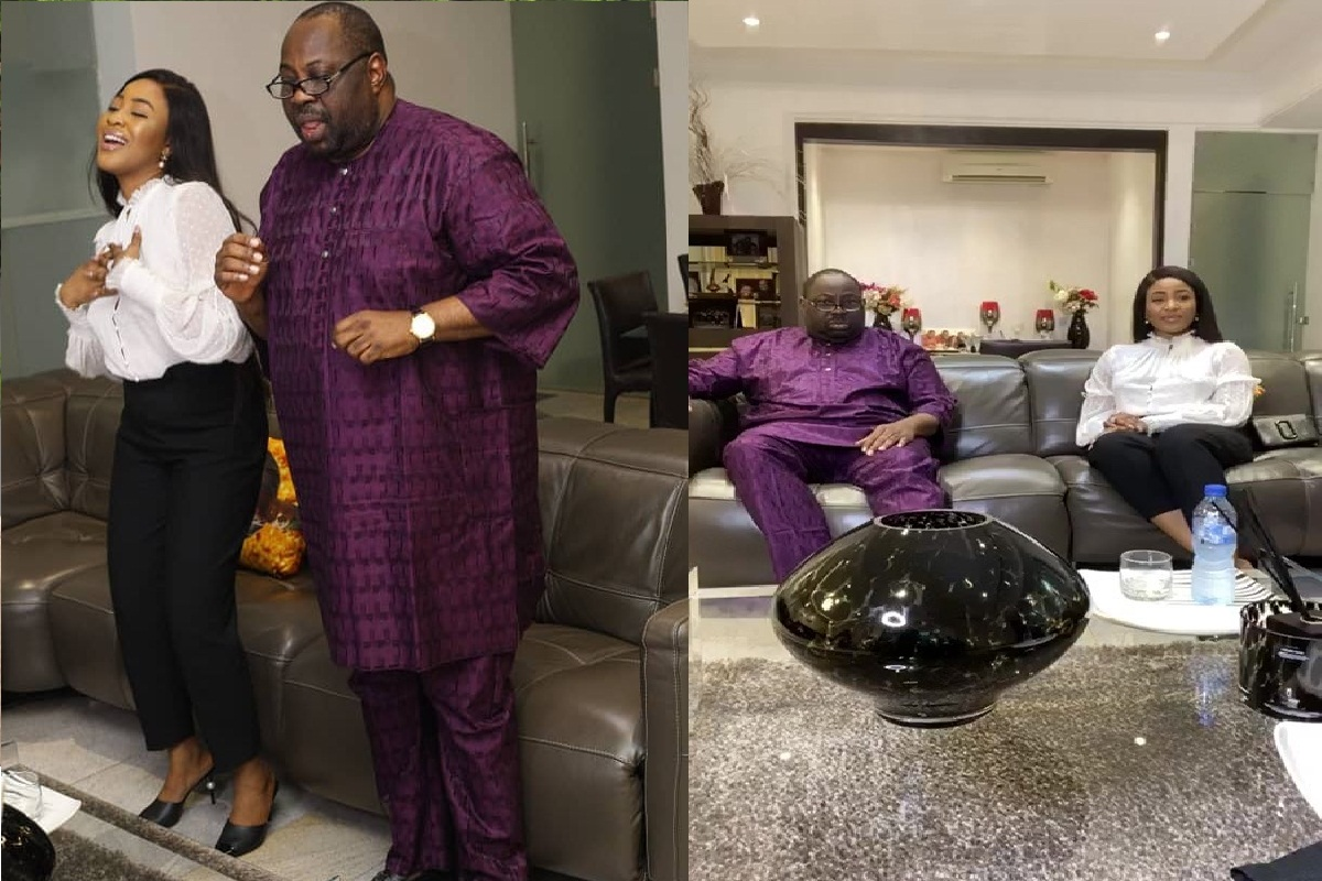 BBNaija: Dele Momodu interviews Erica, I Can Take A Bullet For Kiddwaya(Photos, Video)
