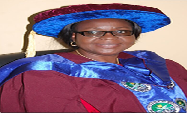 Provost of Delta State College of Education builds 2 toilets for 36million (Photo)