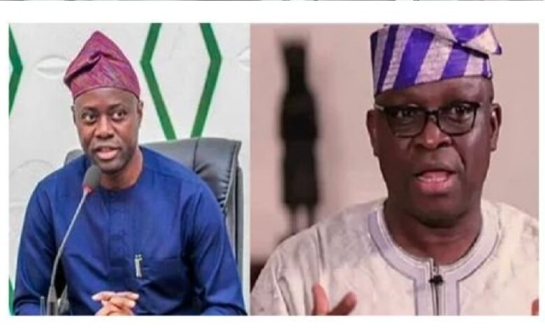 Makinde and Fayose in the cold war over PDP leadership tussle