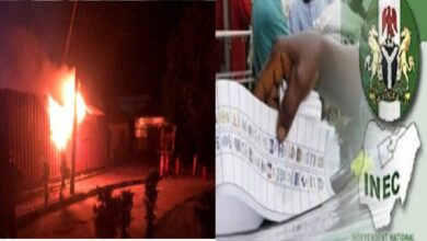 Ondo Poll: INEC Moves To Probe Fire At Ondo Office, Says Election Will Still Hold