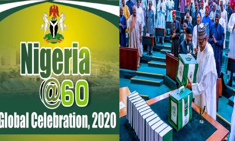 60th Independence Anniversary: FG declares Oct. 1 public holiday, Buhari To Submit 2021 Budget Next Week