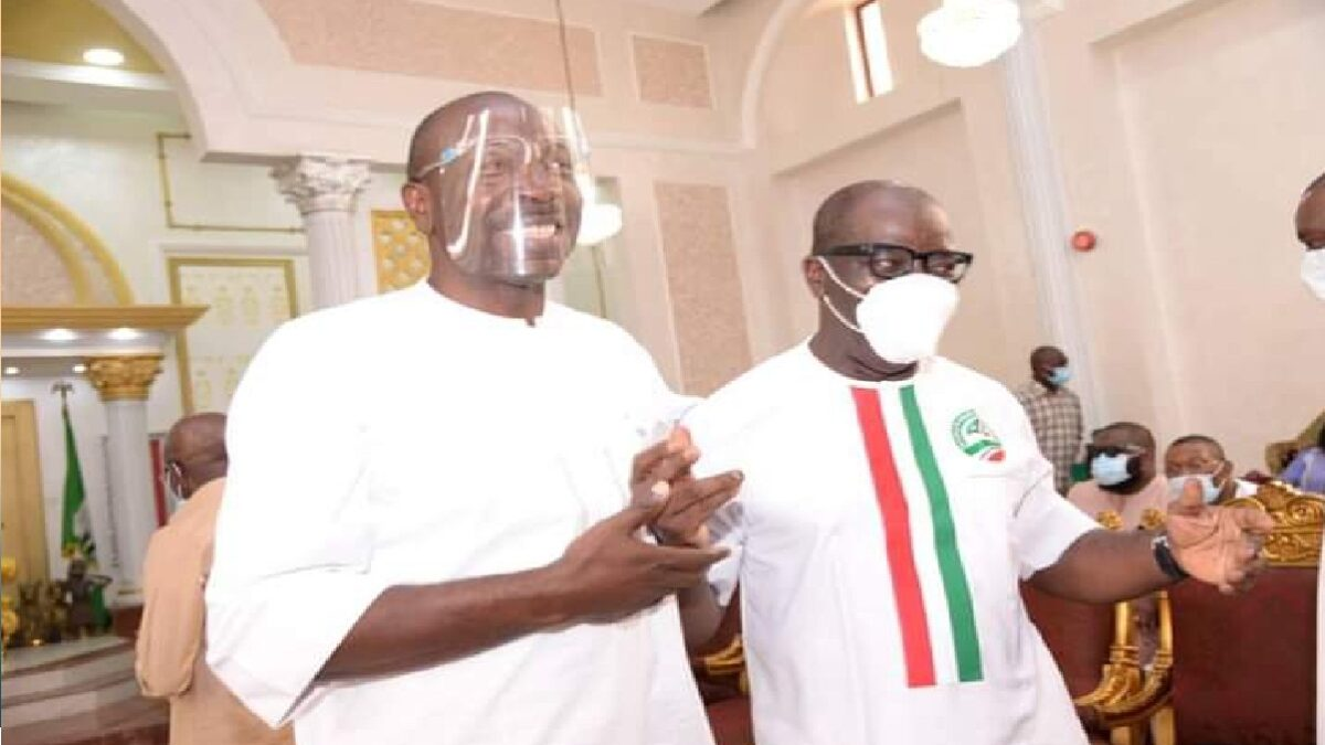 Photo of Edo Poll: Ize-Iyamu Is My Younger Brother, He Respects Me-Gov Obaseki